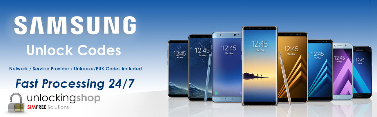 Samsung Mobile Unlock Codes